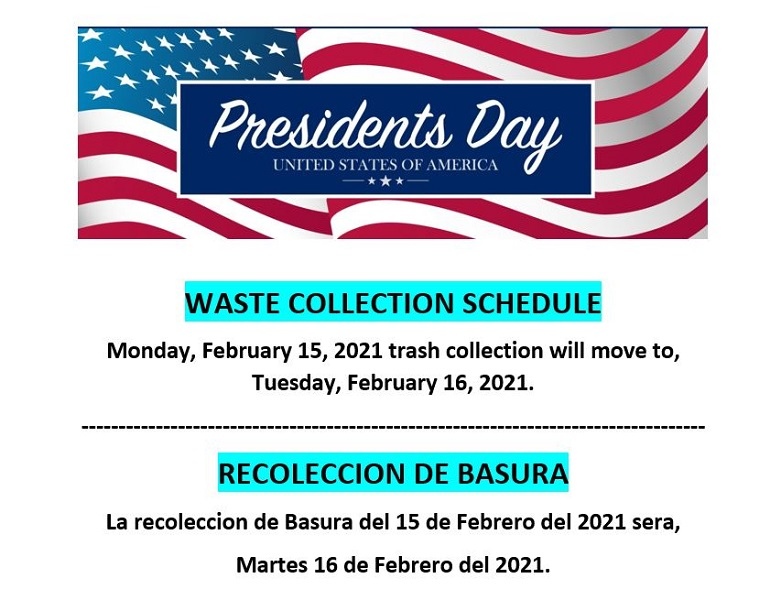 Presidents - Solid Waste Collection